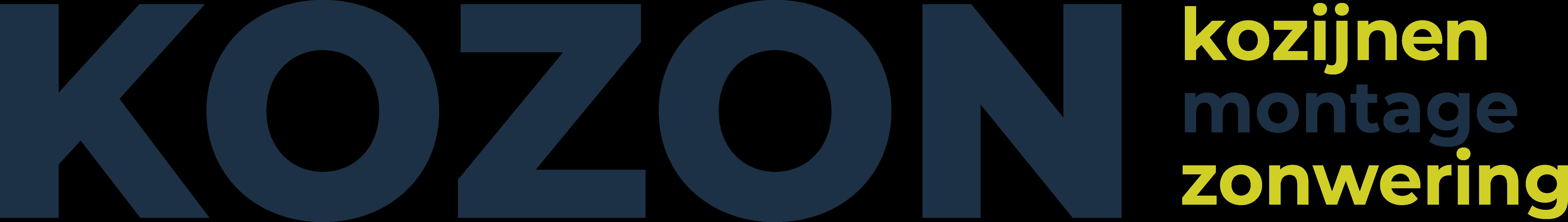 Logo KOZON | montage kozijnen zonwering